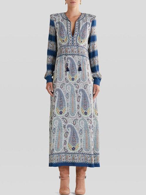 Etro Robe imprimé Paisley mosaïque