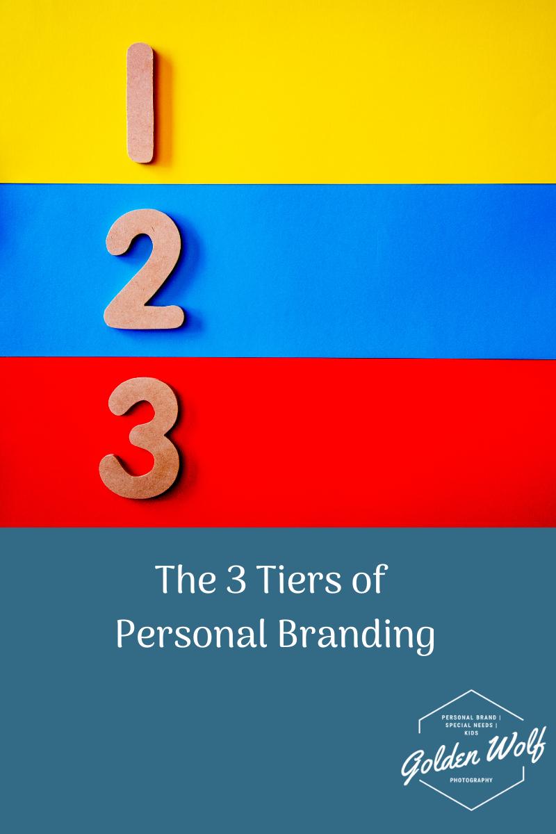 3 tiers of personal branding