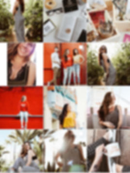 Instagram Feed of Personal Branding Content