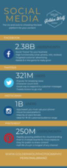 Strengths of Specific Social Media Chann