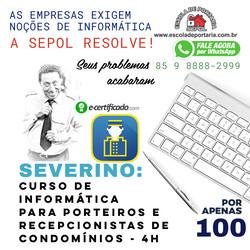 POST SEVERINO_INFORMÁTICA PARA PORTEIROS