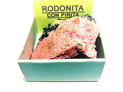 4x4 Rodonita con Pirita de Perú