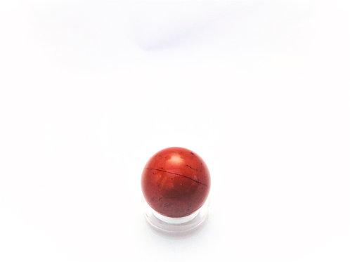 Esfera Jaspe Rojo