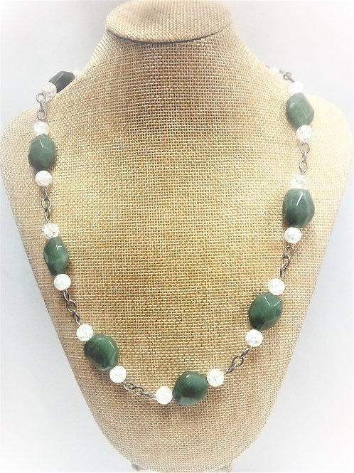 Collar Cuarzo Verde