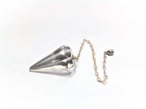 Péndulo Cuarzo Cristal de Roca