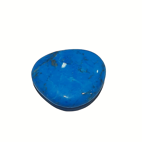 Rodado de Howlita Azul