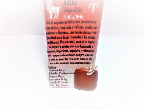 Colgante Jaspe Rojo