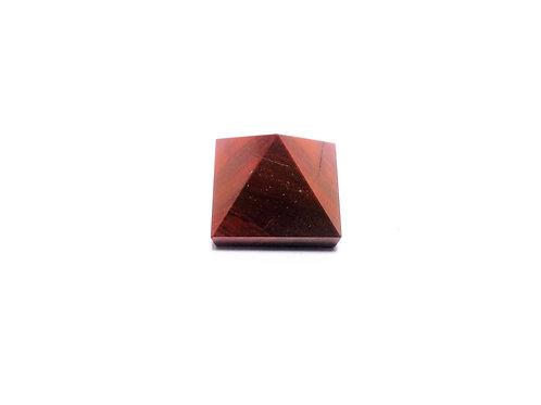 Pirámide Jaspe Rojo