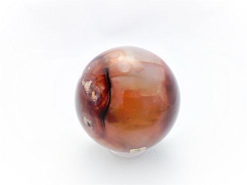 Esfera Agata Carneola
