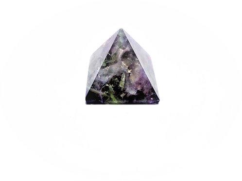 Pirámide Fluorita Arcoíris