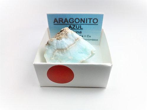 4X4 Aragonito Azul China