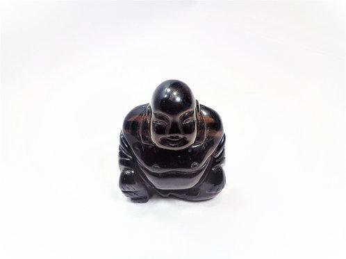 Buda Cuarzo Ahumado