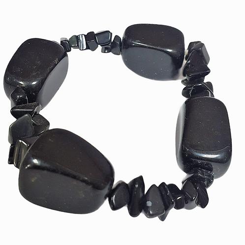 Pulsera Onix Negro
