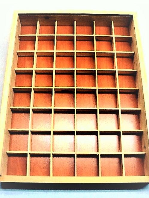 4x4 Caja de Madera