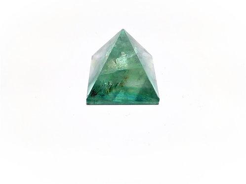 Pirámide Fluorita Verde