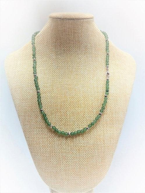 Collar Aventurina Verde