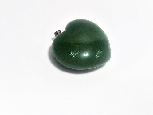 Colgante Cuarzo Verde