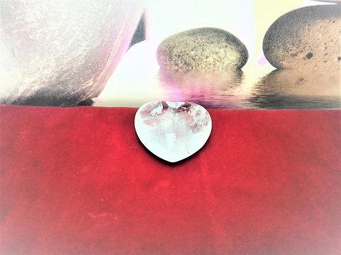 Corazón Cuarzo Cristal de Roca