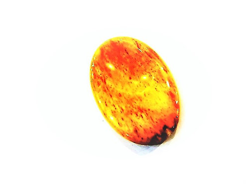 Masajeador de Calcita Amarilla