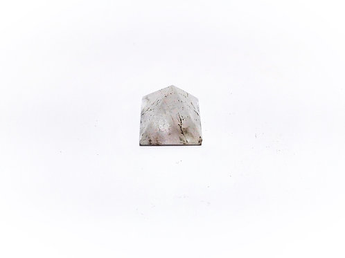 Pirámide Cuarzo Cristal Roca