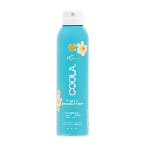 Classic Body SPF 30 Pina Colada Sunscreen Spray 6oz