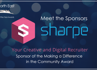 Sharpe Recruitment | Sponsor of the Making a Difference in the Community Award