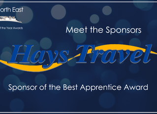 Hays Travel | Sponsor of the Best Apprentice Award