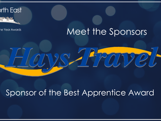 Hays Travel | Sponsor of the Best Apprentice Award
