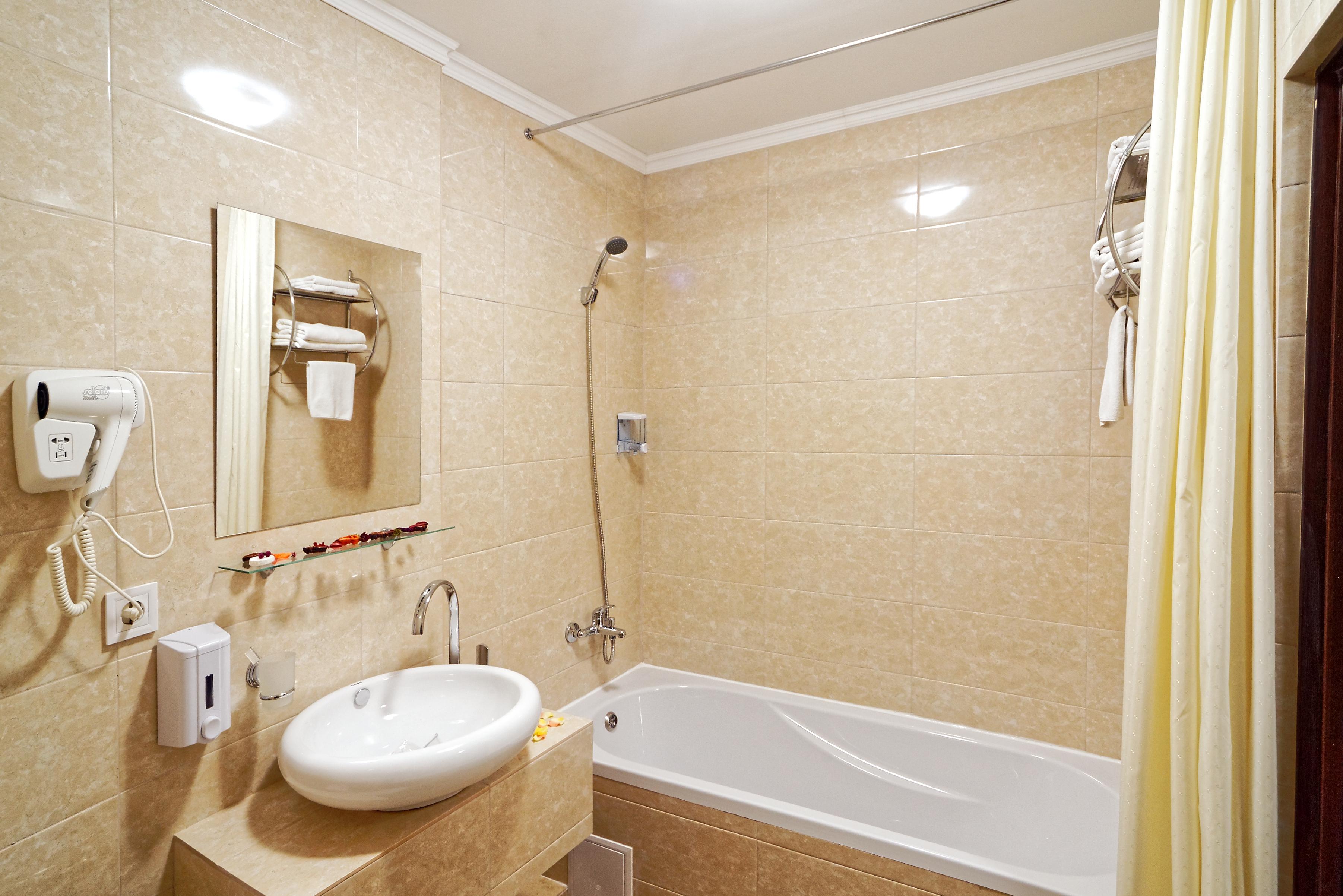 двухкомнатный апартамент ванная