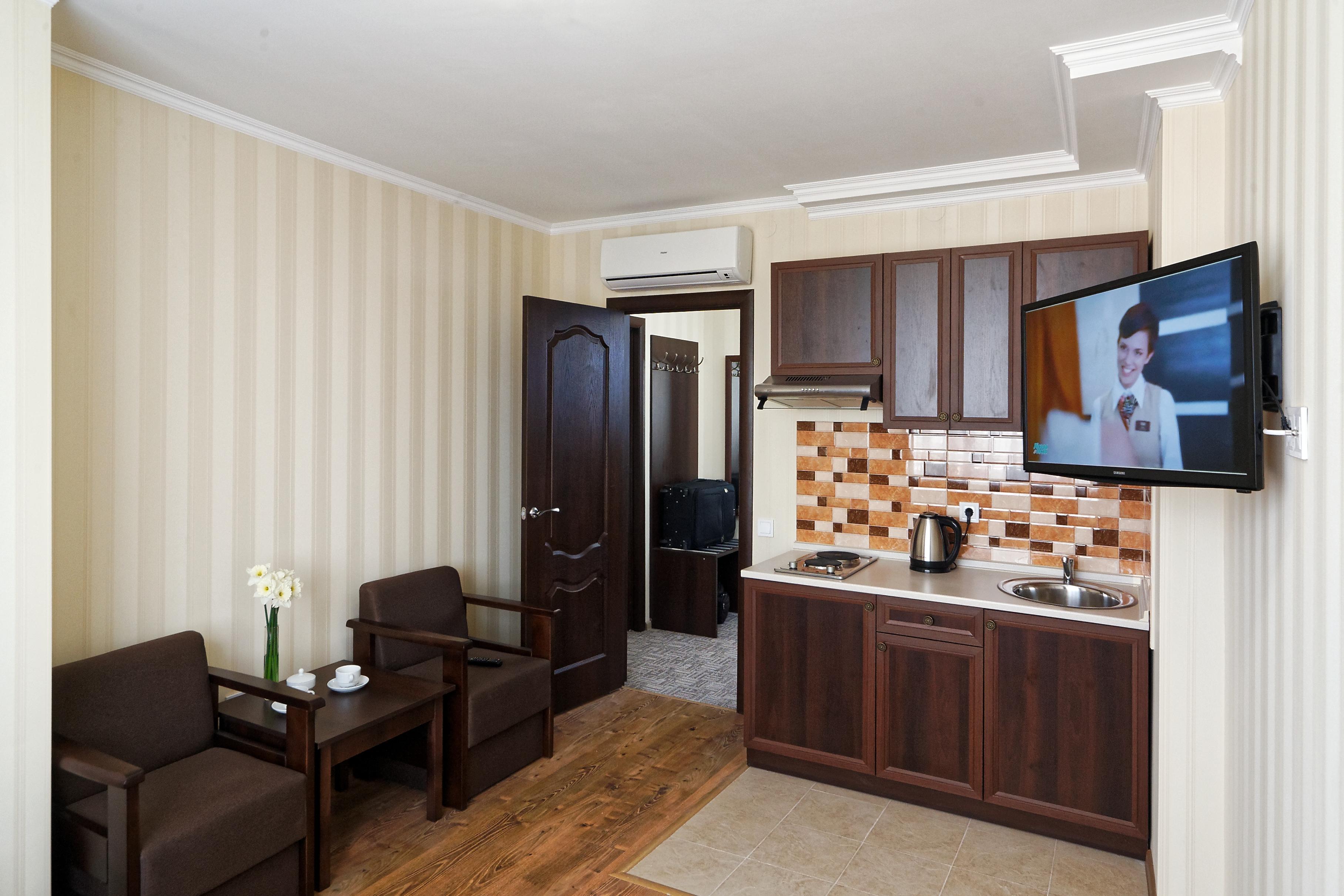 двухкомнатный апартамент