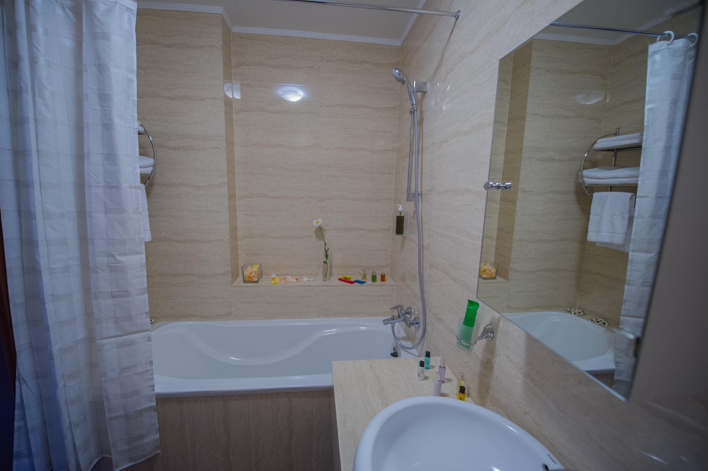 номер люкс ванная