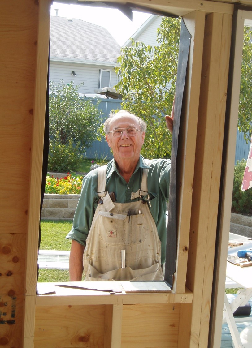 Honed his skills as a carpenter