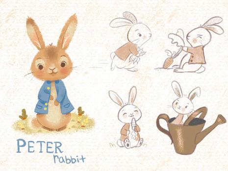Peter Rabbit Character Design