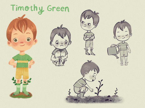 Timothy Green Character Design