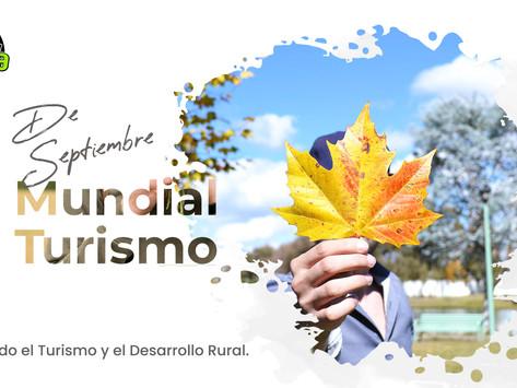 27 de Septiembre Día Mundial del Turismo.