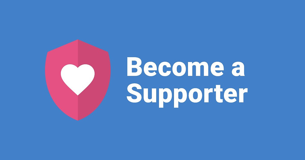 Become a Supporter (£15)
