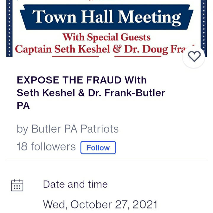 https://www.eventbrite.com/e/expose-the-fraud-with-seth-keshel-dr-frank-butler-pa-tickets-181413531757