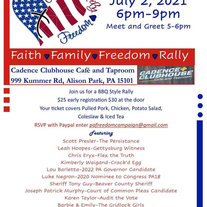 PA Freedom Rally