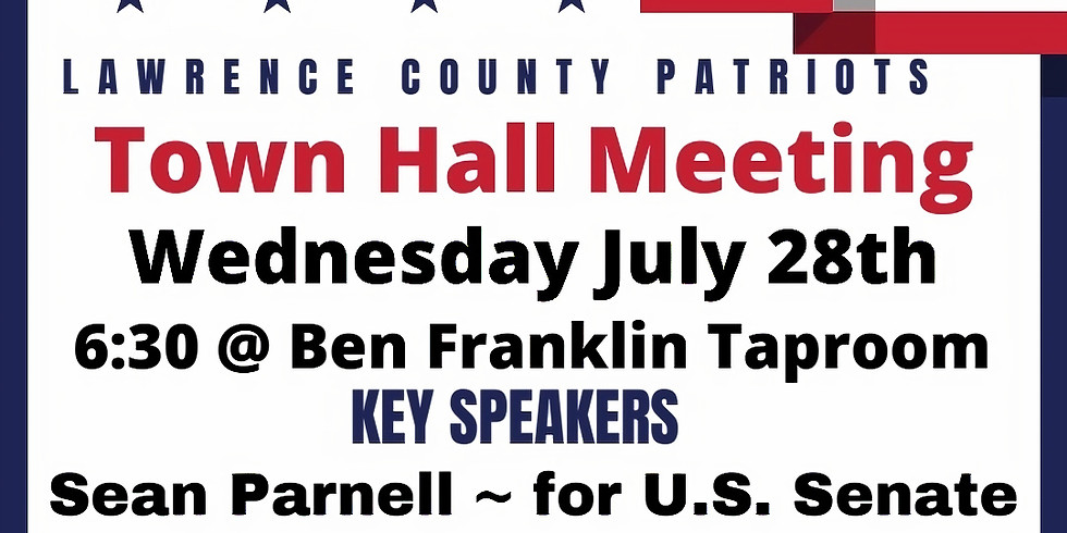 Lawrence County Patriots Town Hall Meeting