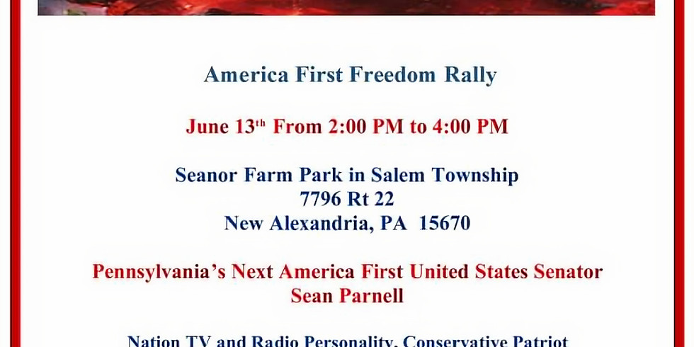 America First Freedom Rally