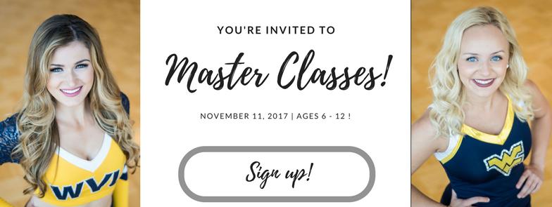 Master Classes - November 11th!