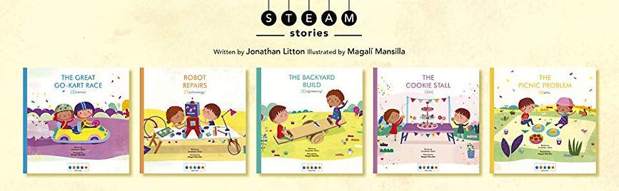 STEAM Stories - 5 covers.jpg