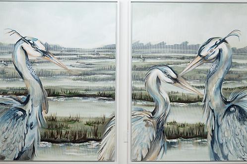 Duo Marsh Bird