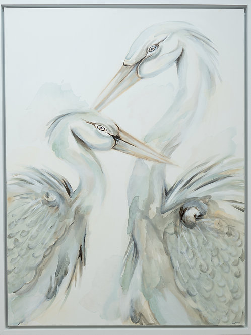 Light Blue Bird Pair