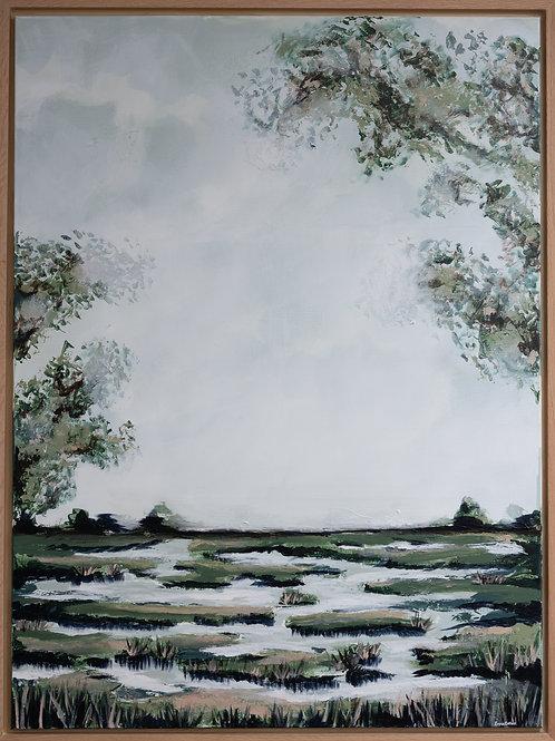 Cloudy Marsh
