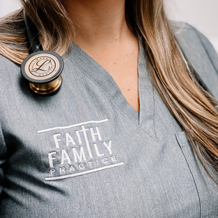 Faith Family Practice Branding  Design