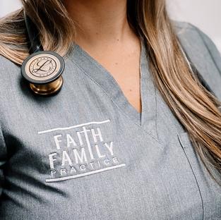 Faith Family Practice Branding  Design