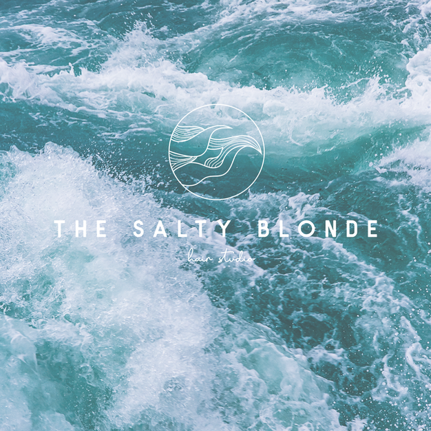 The Salty Blonde Branding
