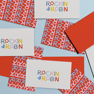 Rockin Robin Branding Design