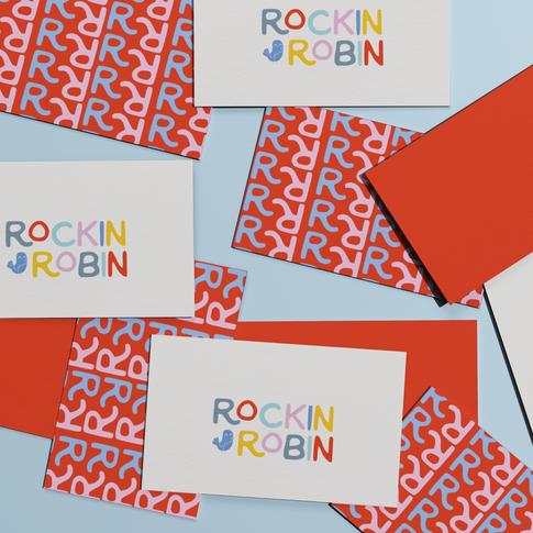 Rockin Robin Business cards